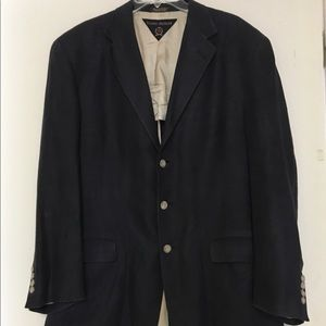 Men's Tommy Hilfiger Navy Linen Jacket/Blazer Lg